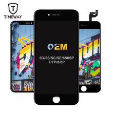 100% Best Premium Display For iPhone 7 8 Plus OEM LCD Screen Replacement For Digitizer iPhone 5S SE 6S Plus Display