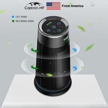 Нам капитан домашнего HEPA фильтр РМ2.5 очиститель воздуха анион активный очиститель углерода, устранения запахов, пыли