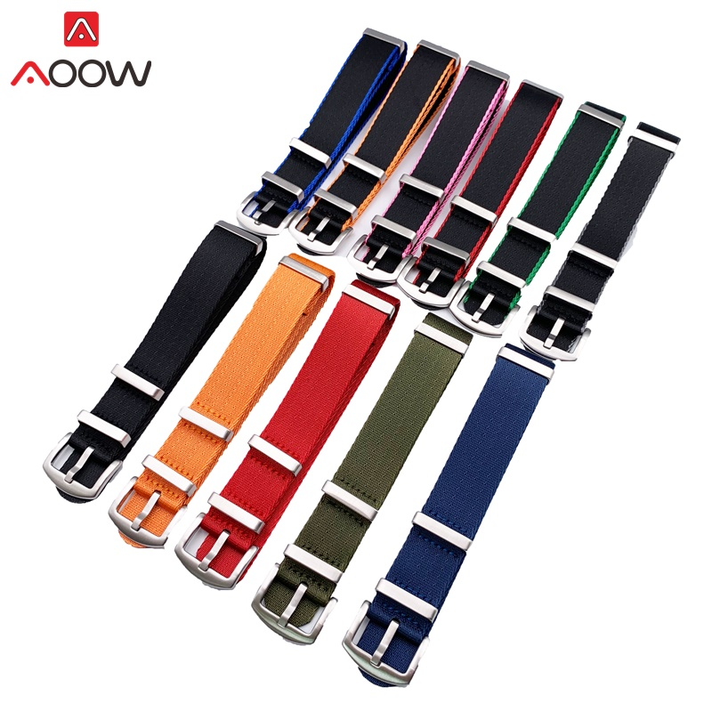 Nylon Watchband NATO ZULU Strap 18mm 20mm 22mm 24mm Generic Watchband Belt Replacement Men Women High Quality Watch Accessories