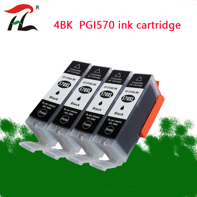 Pgi-570xl PGI570 570xl PGI-570 CLI-571 570 Compatible Ink Cartridge For Canon PIXMA MG5750 MG5751 MG5752 MG5753 MG6850 Printer