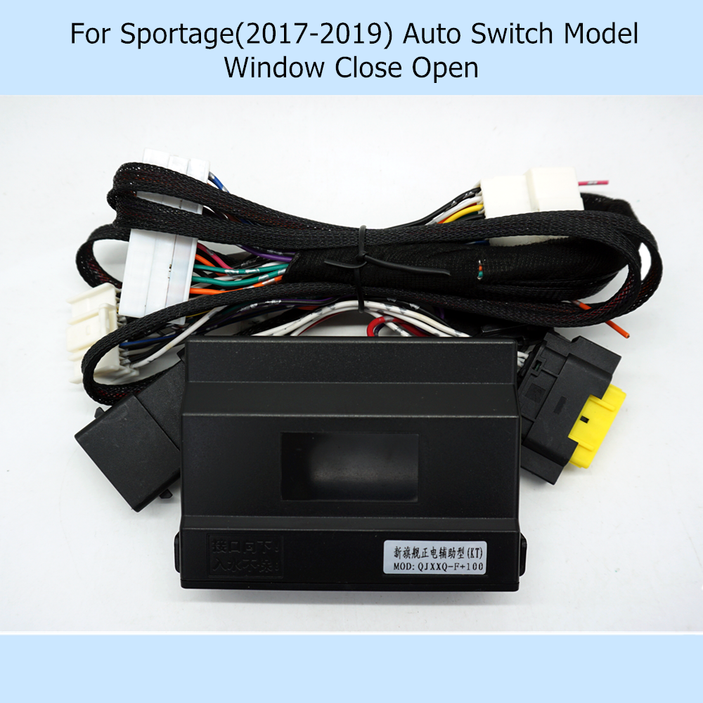 Update Car Automatically Power Window Closer Closing Open 2 By 2 Kit For Kia KX5 Sportage 2016-2019