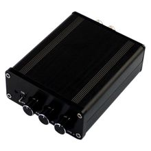Class D AMP TPA3116 + LM1036 Volume Adjustment Bluetooth Digital Power Amplifier DC18-24V 50W+50W