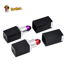 Honeypuff Lipstick Design Metal  Pipes Herb Pipes Creative Disguise Pipe 72MM Long  Pipes
