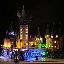 цена на Vonado Led Light Compatible For Lego 71043 Harry Movie 16060 creator Hogwarts-Castle Building Blocks Bricks Toys