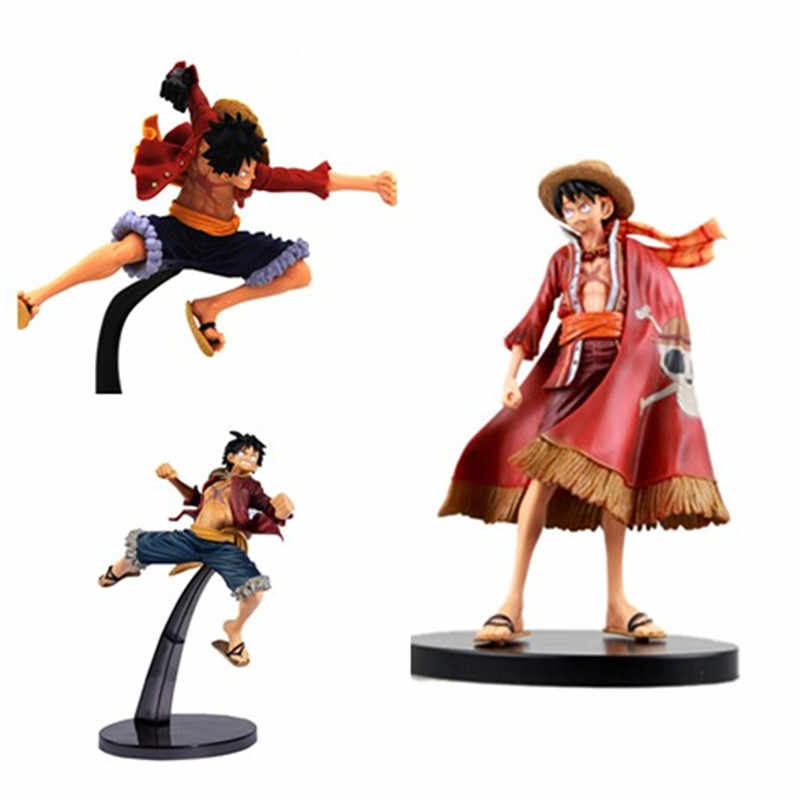 15-18 Cm Action Figure One Piece Monkey D. Luffy Sosok Mainan Garis Utama Pria Luffy Anime Koleksi Model Satu piece Luffy Pertempuran Ver