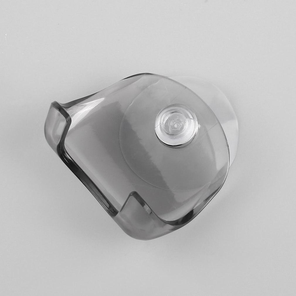 Eco-Friendly Plastic Super Suction Cup Razor Rack Bathroom Razor Holder Suction Cup Shaver Storage Rack Shaving Razor Holder