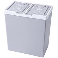 分類ごみ缶キッチンごみビン寝室残留廃棄物家庭用食品ごみ収納ダブルバケット