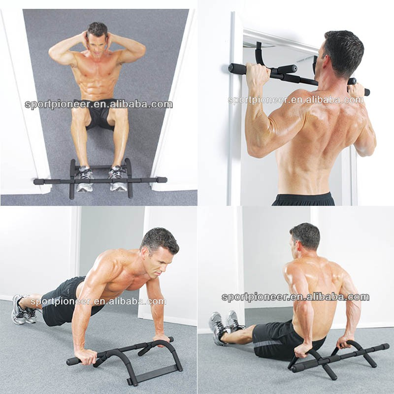 Multi-functional Pull Up Bar Wall Adjustable Indoor Fitness Door Frame Chin Up Bar Horizontal Bar Fitness Equipments For Men