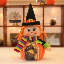 1PC Halloween Candy Bag Doll Snack Biscuit Baking Package For Kid Box Party Gift Wrap Decoration