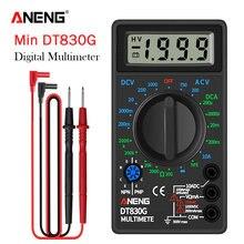 Цифровой мультиметр aneng dt830g карманный измеритель переменного/постоянного