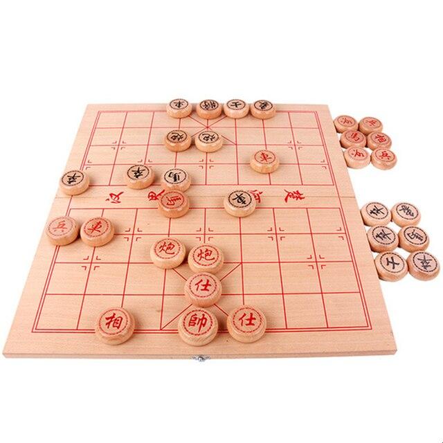 Jeu de xianqi traditionnel (échecs chinois) plateau pliable. 6