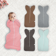 Baby Sleeping Bags Newborn Baby Cotton Zipper Swaddle Blanket Wrap Sleepsack Infant Sleeping Pouch 0-3 Months