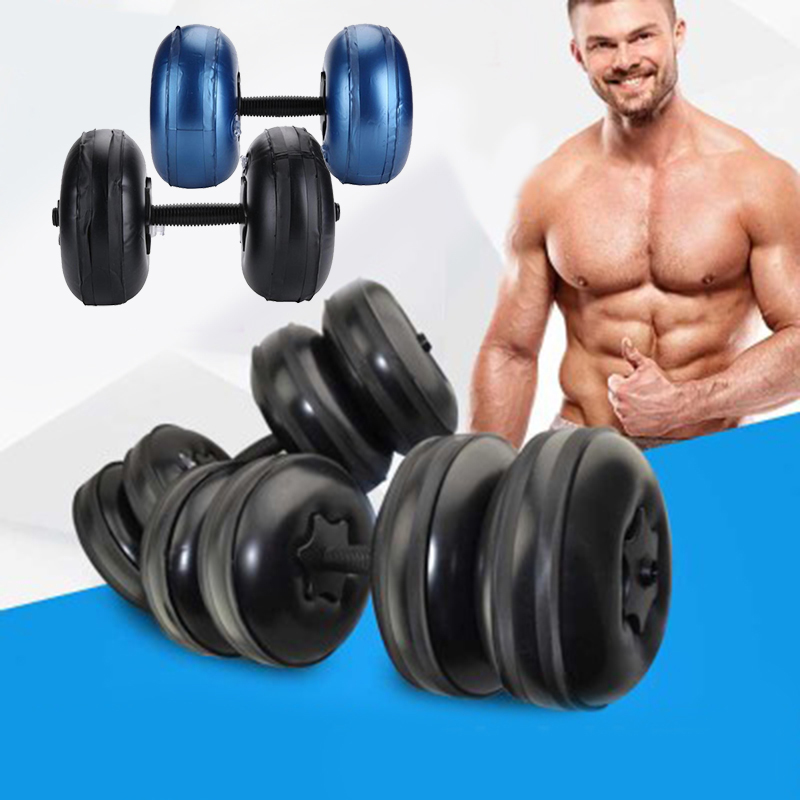 Adjustable Water-filled Dumbbell Training Arm Muscle Fitness Equipment Anti Impact Men Heavey Weight Dumbbell Gym Home Exercise
