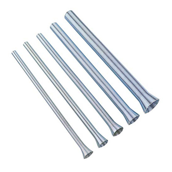 5 sztuk wiosna giętarka do rur rura aluminiowa narzędzia do gięcia giętarka do rur 5 8 #8222 2 1 #8221 DEC889 tanie i dobre opinie Prętów stalowych Other Instrukcja Rury i rury giętarka
