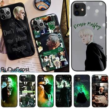 Jomy Draco Malfoy Phone Case For iphone 12 pro max 11 pro XS MAX 8 7 6 6S Plus X 5S SE 2020 XR case image
