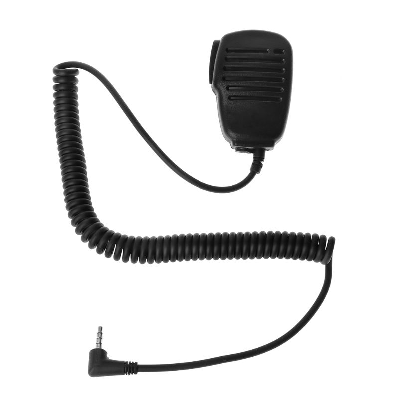 Portable Two-way Radio Walkie-talkie MH-34B4B VX-3R FT-60R FT1DR FT2DR 3.5mm Audio Jack Speaker PTT Microphone