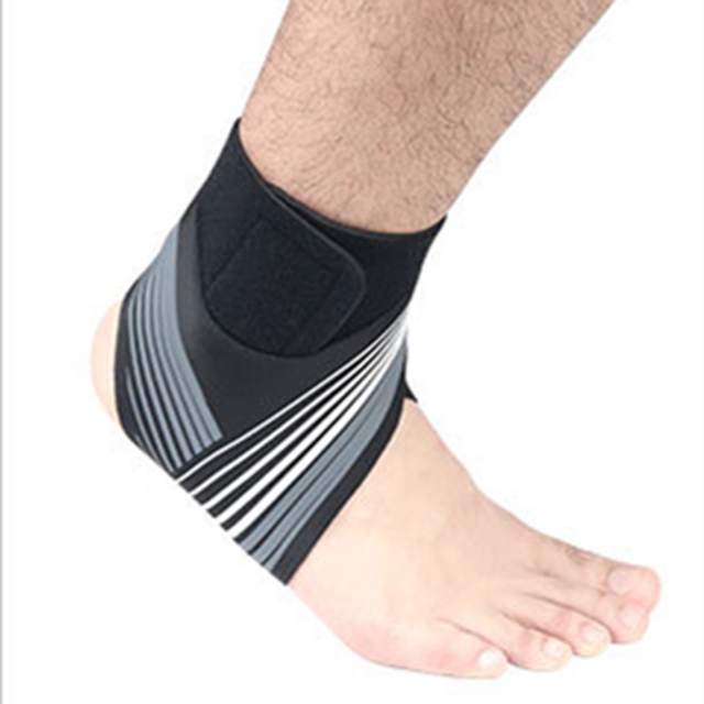 Adjustable Elastic Ankle Sleeve High Elastic Ankle Brace Guard Foot Support Sports Belt Sweat Absorb 1