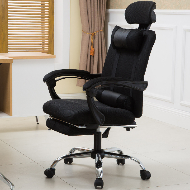 Office Chair Can Lie On The Net Cloth, Boss And Staff Can Lift And Lower The Home Computer Chair By Pulley, Racing Electric