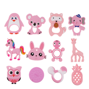 1 PC Silicone Teethers 1PC Baby Teething
