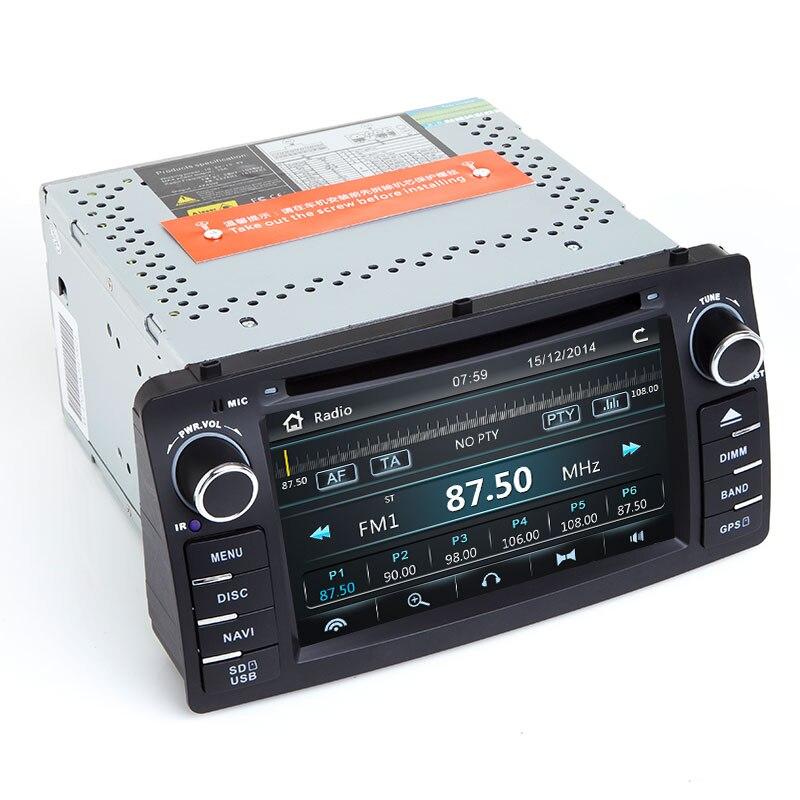 Xonrich 2 Din Автомобильный Радио dvd-плеер для Toyota Corolla E120 BYD F3 2000 2005 2006 Мультимедиа GPS головное устройство стерео навигация аудио