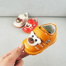 Baby Shoes Autumn 2019 Childrens Cartoon Canvas Babies Call Anti-skid Walking  toddler baby shoes