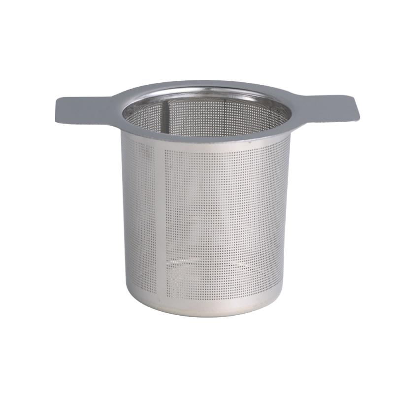 Reusable Mesh Tea Infuser Metal Cup Shape Stainless Steel Tea Strainer Tea Leaf Filter Sieve Tea Bag Filter Drinkware Tools New