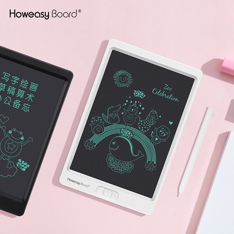 "Howeasy Board 12/""LCD Electronic Writing Tablet Digital Drawing Board Notepad LOT"