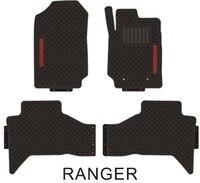 Car Floor Mats for Right Steering RHD Ford Ranger Special No Odor Carpets Waterproof Rubber