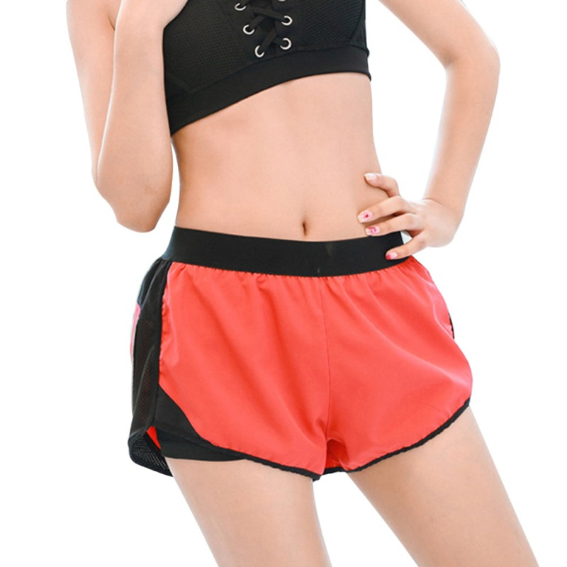 Causal Shorts Women Outdoor Running Shorts Workout Exercise Fitness Fashion Female Short