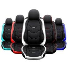 Voor Pu Lederen Auto Seat Cover Protector Automobiles Stoelhoezen Bescherm Voor Hyundai/Solaris Creta Ix35 Voor Lada Vesta samara
