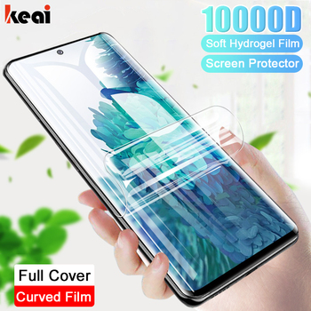 Curved Hydrogel Film For Samsung Galaxy S21 S20 Fe Ulrtra S10 S9 S8 Plus Screen Protector A52 A21s A72 A32 M31s M51 Not-Glass 1