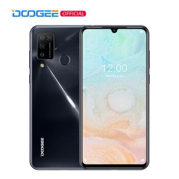 Купить DOOGEE N20 Pro Helio P60 Octa Core Quad Камера мобильные телефоны 6 ГБ Оперативная память 128 Гб Встроенная память глобальная версия 6,3 дюймFHD + безрамочный экран ...