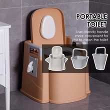 Portable Large Toilet Travel Camping Hiking Outdoor Indoor Potty For The Elderly Pregnant Women Toilet