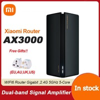 Nuovo Router Xiaomi AX3000 Mesh Wifi6 2.4G 5.0 GHz Full Gigabit 5G WiFi ripetitore 4 antenne Extender di rete Router di rete