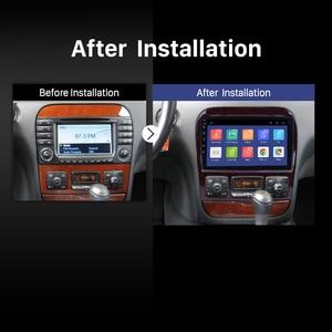 Image 3 - Harfey 9 Android 9.0 Car Radio GPS Navi for Mercedes Benz S Class W220 S280 S320 S350 S400 S430 S500 1998 2005 Audio with AUX