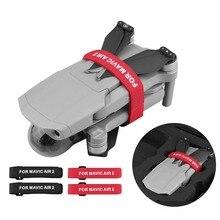 2 stücke Propeller Klinge motor Feste Fixer Magie Band Straps Kabel Krawatten für DJI Mavic AIR 2 Pro Platin mavic 2 Zoom Drone