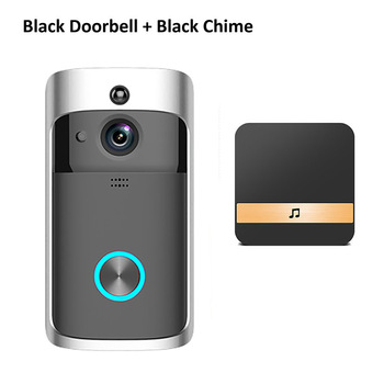 Wsdcam Smart Doorbell Camera Wifi Wireless Call Intercom Video-Eye for Apartments Door Bell Ring for Phone Home Security Cameras 9