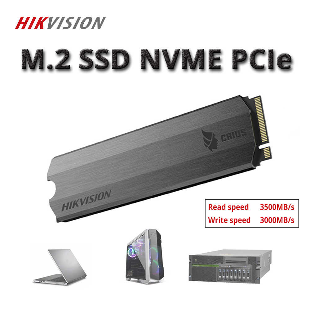 HIKVISION SSD M2 256GB 512GB 1tb 2tb PCIe NVME C2000 For Desktop Laptop Solid State Drive PCI-e Gen 3 x 4 C2000 Pro