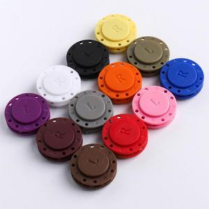 Strong Magnetic Snap Magnetic Buttons Set Fasteners Clasps DIY Sewing Accessories for needlework clothes Handicraft wallet new