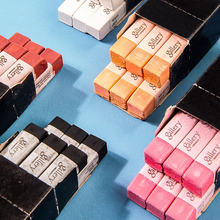 6 pçs/caixa cores mungyo giz pastéis para o artista estudante graffiti pintura caneta artigos de papelaria escola arte suprimentos única cor conjunto