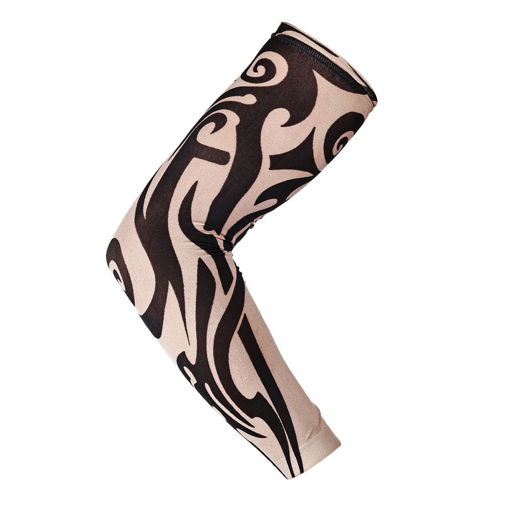 Nylon Elastic Temporary Tattoo Sleeve Designs Body Arm Stockings Tatoo Cool