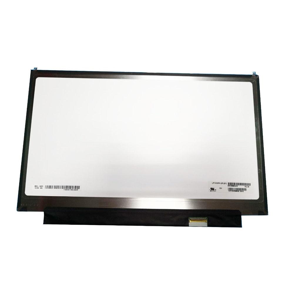 "13.3"" IPS Laptop Matrix For LG LP133WF6-SPB1 LP133WF6 (SP)(B1) LCD Screen 40 Pins FHD 1920X1080 LP133WF6 SPB1 Panel Replacement(China)"