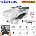 Visuo XS818 Zen Mini Drone GPS avec 5G Wifi FPV 4K HD double caméra débit optique RC quadrirotor suivez moi Mini Dron VS E520S SG907