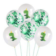 10pcs 12Inch Cartoon Dinosaur panda Series Latex Balloon Birthday Party Baby Shower Kids Decoration Supplies