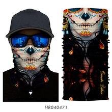 Mask Biker-Masque Buffs Headband Face-Shield Neck-Warmer Mascarilla Skull Outdoors Women