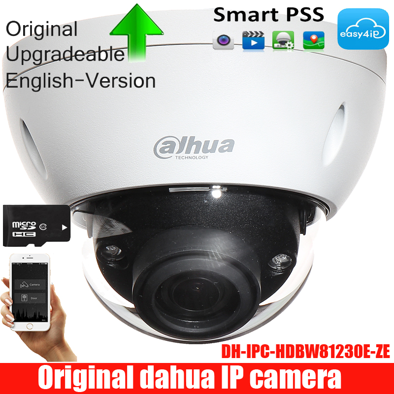 Original <font><b>DAHUA</b></font> Security <font><b>IP</b></font> <font><b>camera</b></font> <font><b>12MP</b></font> DWDR IR Dome Surveillance Network <font><b>Camera</b></font> With POE+ IP67 IK10 DH-IPC-HDBW81230E-ZE image