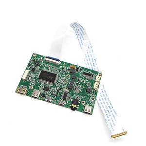 Image 3 - Edp נהג לוח צג lcd נייד HD mini HDMI סוג C נהג לוח 5V אספקת חשמל עם 3.5mm לאוזניות G1009