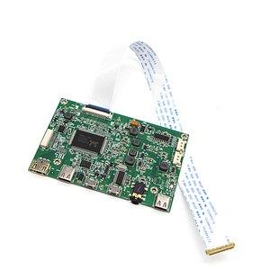 Image 3 - Płyta sterownicza Edp przenośny wyświetlacz lcd HD mini HDMI type c płyta sterownicza 5V zasilacz z gniazdo jack do słuchawek 3.5mm G1009