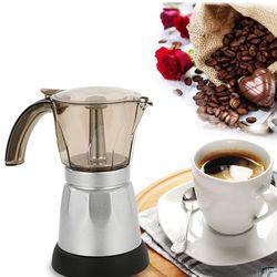 480W 220V Espresso Coffee Mocha Coffee Pot Percolator Electric Moka Pot K1AD