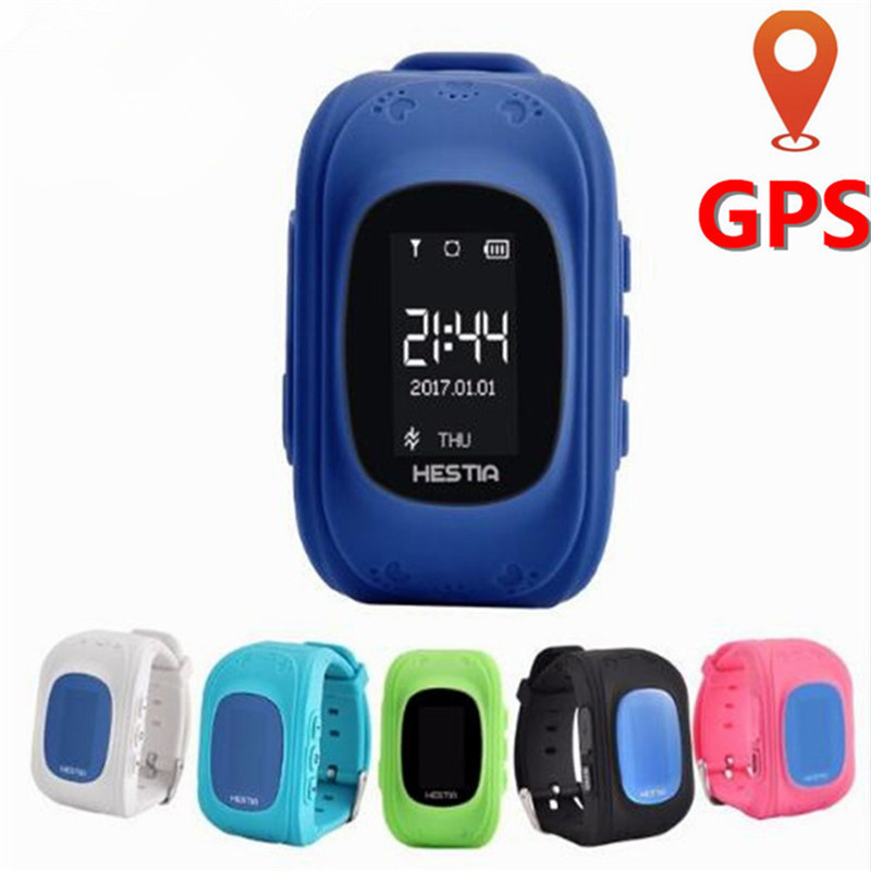 Kids GPS Watch GPS Children Watch Phone Sim Card LED Baby Smart Watch SOS Call Location Finder Anti Lost Safety Child Wristband